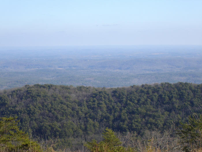 "Drinking Gourd route: view from the ""Two Hills"""
